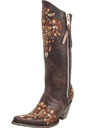 Old Gringo Damen Stiefel - Damen L894 Stiefel, Braun (Schokoladenbraun)
