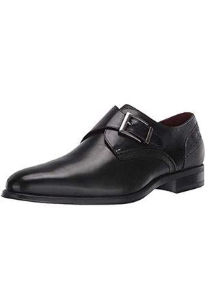 Stacy Adams Herren Elegante Schuhe - Herren Holbrook Plain Toe Monk Strap Mnch-Schnallenschuh
