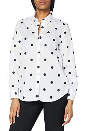 Seidensticker Damen Bluse – Fashion Bluse - Bügelleichte Hemdbluse mit Hemdblusenkragen - Regular Fit – Langarm – 100% Baumwolle - - 34