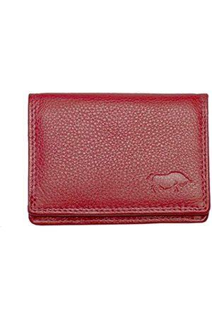 ARRIGO BELLO Damen Slips - Geldbörse Klein Damen Leder - Minibörse Leder Brieftasche - Geldbeutel Frauen Small - Portmonee - Kleines Portemonnaie -2.5x7.5x10 cm