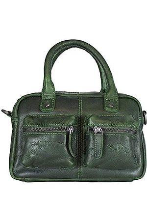 ARRIGO BELLO Damen Umhängetaschen - Leder Westernbag für Damen - Umhängetasche - Lederhandtasche - Handtasche - 18 x 12 x 25 cm
