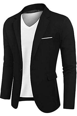 COOFANDY Herren Casual Anzug Blazer Jacken Leichte Sportmäntel One Button - - XX-Large