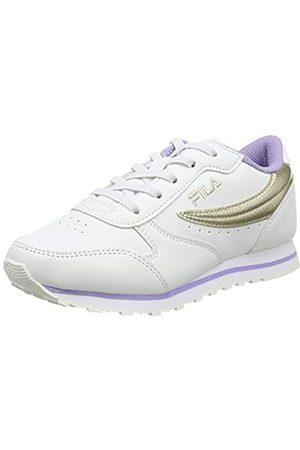 Fila Jungen Schuhe - Orbit F Kids Sneaker, White/
