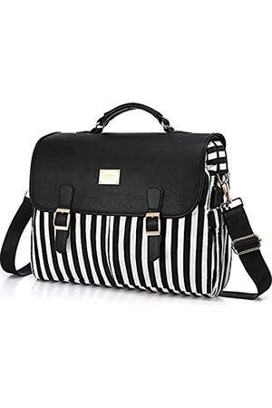 LOVEVOOK Damen Laptop- & Aktentaschen - Laptoptasche für Damen, große Computertaschen, niedliche Messenger-Tasche, Aktentasche, Business, Arbeitstaschen, Geldbörse, 15,6 Zoll