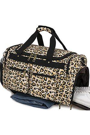 BLUBOON Weekender Overnight Duffel Bag Shoe Pocket for Women Men Weekend Travel Tote Carry On Bag Weekender Reisetasche für Damen und Herren