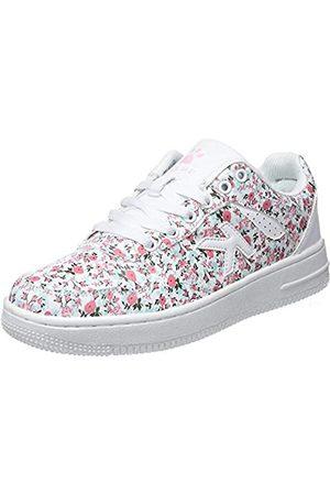 kelme Damen Retrobasket Flowers Sneakers, Mehrfarbig (Estampado 67)