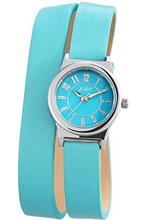 Just Watches Damen-Armbanduhr XS Analog Quarz Leder 48-S4062-HBL