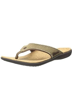 Spenco Damen Sandalen - Yumi Sandal, Herren Yumi Frauen Zehensteg Sandale, (Straw/Java/Cork)