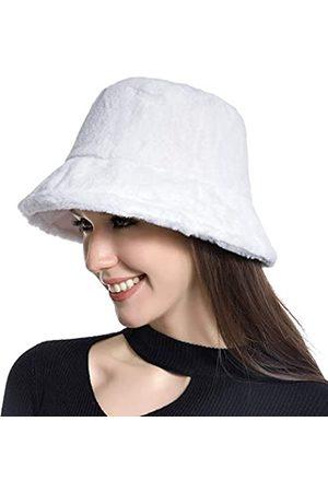Muryobao Damen Hüte - Wintermütze für Damen, warme Hüte, Vintage-Stil, Kunstfell