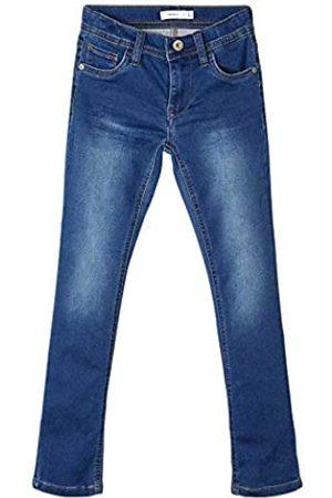 NAME IT Jungen Slim - Boy Jeans X-Slim Fit Sweatdenim 110Dark Blue Denim