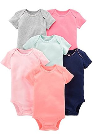 Simple Joys by Carter's Baby Bodys - 6-Pack Short-Sleeve infant-and-toddler-bodysuits Newborn