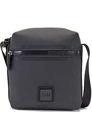 HUGO BOSS Herren Umhängetaschen - Herren Hyper N NS mini Reporter-Tasche aus mattem Gewebe mit Logo-Tape am Reißverschluss Größe One Size