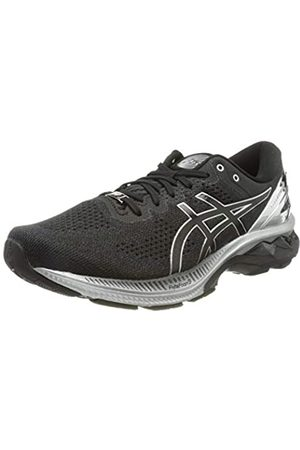 Asics Herren Gel-Kayano 27 Platinum Road Running Shoe, Black/Pure Silver