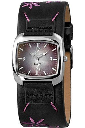 Excellanc Damen Uhren - Damen Analog Quarz Uhr mit Verschiedene Materialien Armband 195023800132