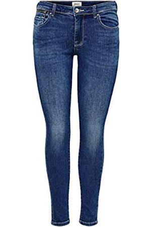 ONLY Female Skinny Fit Jeans ONLIsa Life Zip Reg 2930Dark Blue Denim