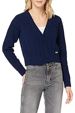G-Star Womens Cable Cardi Cardigan Sweater