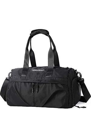 SZLX Turnbeutel für Damen und Mädchen, Tanztasche, wasserdicht, kleine Trainingstasche, strapazierfähige Sporttasche, leichte Handtasche mit Schuhfach & Nasstasche & verstellbarem Riemen