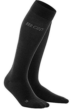 CEP – ALLDAY RECOVERY COMPRESSION SOCKS für Damen | Merino Socken mit Kompression in anthrazit | Größe II