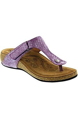 Taos Footwear Lucy Damen-Sandale, Violett (Lavendelschlange)