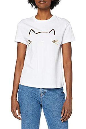 Mavi Damen CAT Printed Tee T-Shirt