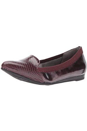 Lifestride Damen Schuhe - Damen Quickstep Spitze Flach, (dunkelrot)