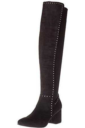 Seven Dials Damen Overknees - Frauen Nicki Spitzenschuhe Fashion Stiefel Groesse 5.5 US /36 EU