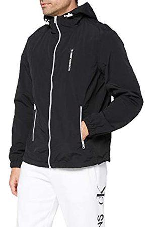 Calvin Klein Herren Outdoorjacken - Herren Vertical Logo Windbreaker Windjacke