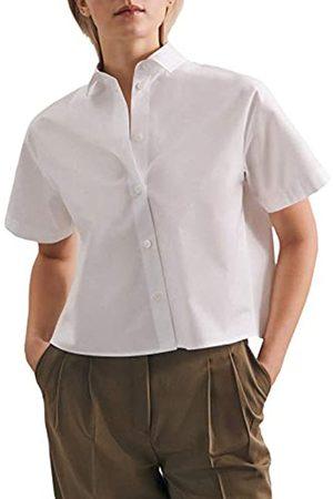Seidensticker Damen T-Shirts - Damen Fashion Kurzarm Bluse