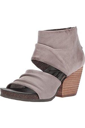 OTBT Damen Sandalen - Damen Patchouli Sandalen mit Absatz, Grau (zink)