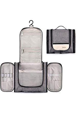 CaweyLife Herren Reisetaschen - Kulturbeutel zum Aufhängen, mit Seitentaschen, kleine Kosmetiktaschen für Damen, kompakte Größe, Herren