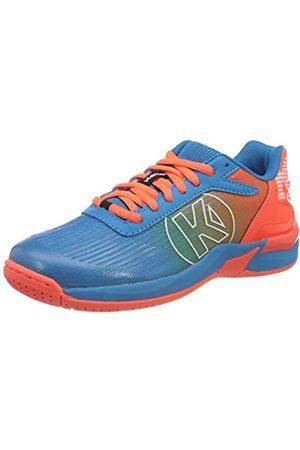 Kempa Attack 2.0 JUNIOR Sneaker, blau/Fluo