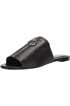 Via Spiga Damen Hope Flat Zipper Flache Sandale