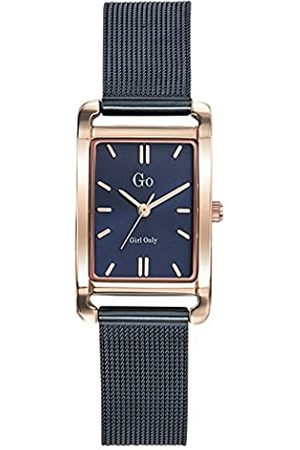 GO Girl Only Damen Uhren - Damen Analog Quarz Uhr mit Edelstahl Armband 695157