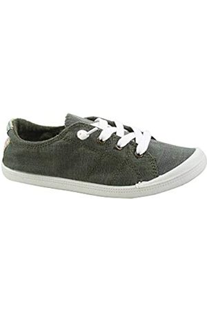Generic Damen Schuhe - FZ-Comfort-01 Women's Cute Comfort Slip On Flat Heel Round Toe Sneaker Shoes