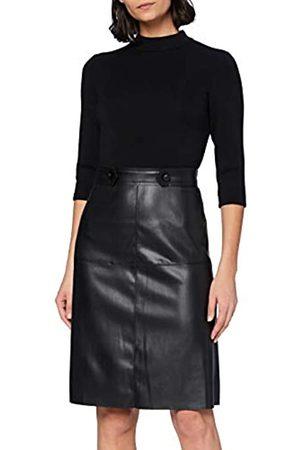 Apart Damen Dress With Fake Leather Cocktailkleid