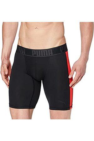 PUMA Herren Boxershorts - Herren Active Long Boxer 1P Packed Unterwäsche