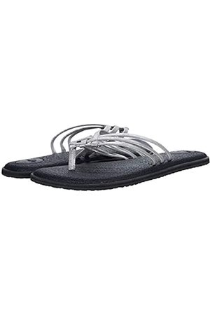 Sanük Damen Yoga Salty Shimmer Metallic Flip-Flop