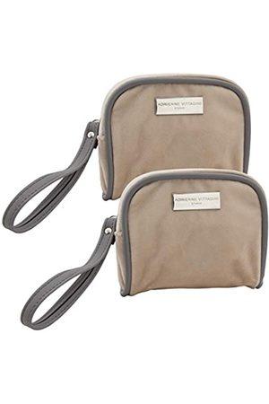 Adrienne Vittadini Handtaschen - (2 Pack) In-Flight Mini Bags Travel Essentials Wipes Tissue Mask Ear Plugs Sewing Kit