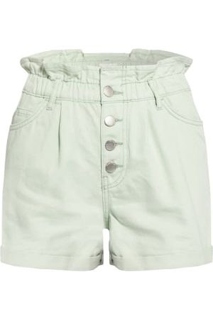 ONLY Cropped - Jeans-Shorts blau