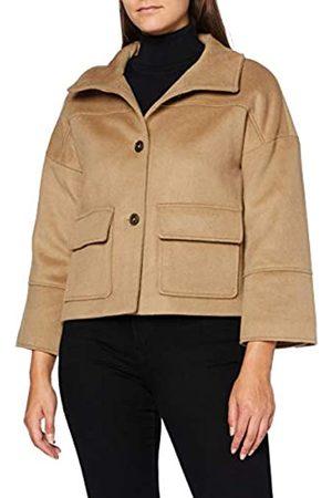 GANT Damen Jacken - Damen D1. Wool Blend Cropped Jacket Jacke