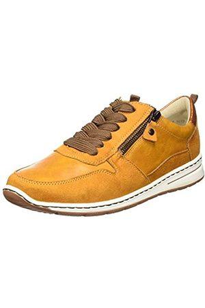ARA Damen Schuhe - Damen Sapporo Sneaker, (Curry)