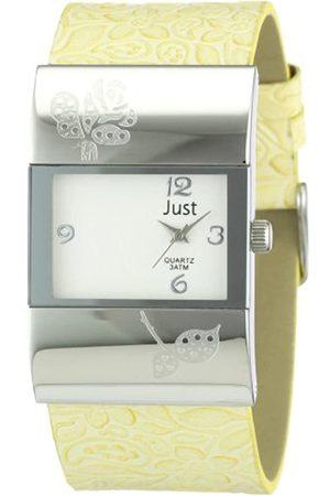 Just Watches Damen-Armbanduhr Analog Leder 48-S0044-YL