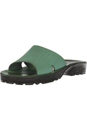 Jerusalem Sandals Jerusalem Sandalen Damen Bashan geformtes Fußbett Slide Sandale, Grn