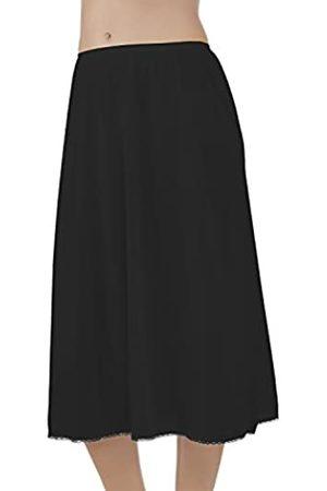 Vanity Fair Damen Slips - Damen Daywear Solutions Half Slip 11711 Unterrock, -Midnight Black