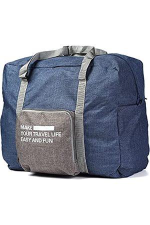 Buruis Faltbare Reisetasche, Handgepäck unter dem Sitz, Tragetasche, wasserabweisend, leicht, große Kapazität