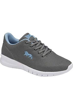 Lonsdale London Damen Bedford Road Running Shoe, Grey/Vista Blue