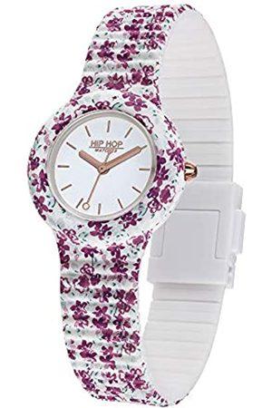 Hip Damen Analog Quarz Uhr mit Silikon Armband HWU0995