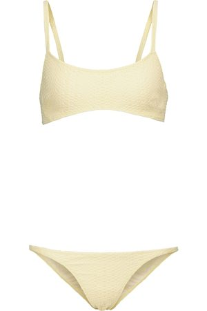 Lisa Marie Fernandez Bikini KK aus Seersucker
