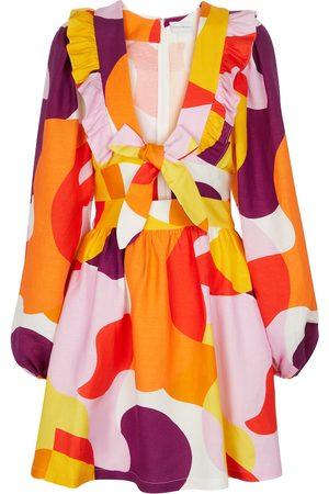 Rebecca Vallance Minikleid Del Rio aus einem Leinengemisch