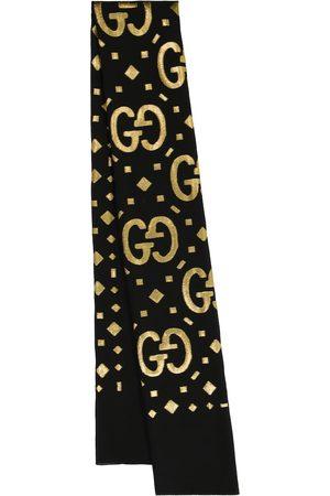 Gucci Damen Schals - Schal GG mit Fil Coupé